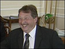Environment Minister Sammy Wilson